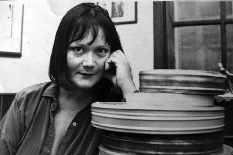 A escritora Hilda Machado, na década de 1970