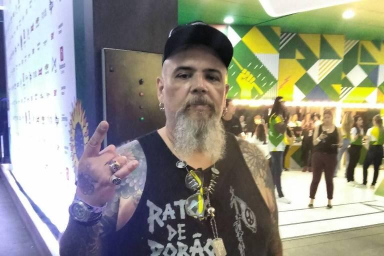 João Gordo no Lollapalooza