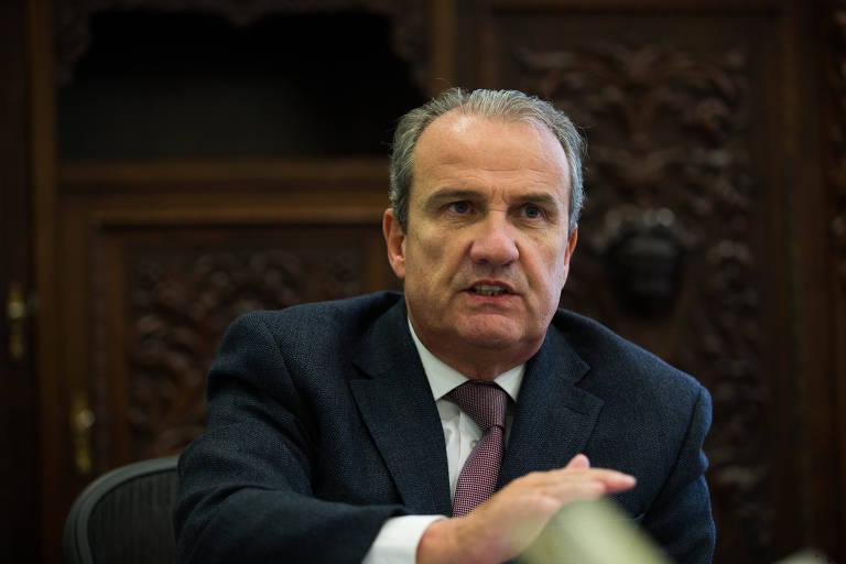 O secretário da Segurança Pública do Estado de São Paulo, Mágino Alves Barbosa
