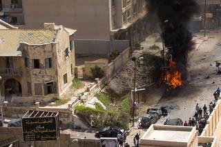 EGYPT-ALEXANDRIA-EXPLOSION