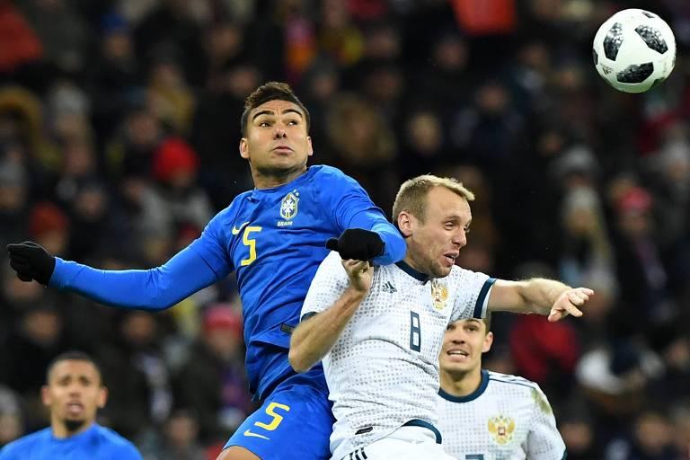 Confira a provável escalação das equipes — Brasil x Alemanha