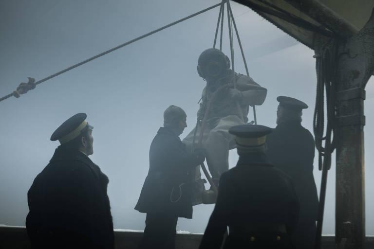Cena da série The Terror, produção de Ridley Scott para o canal AMC - primeiro episódio