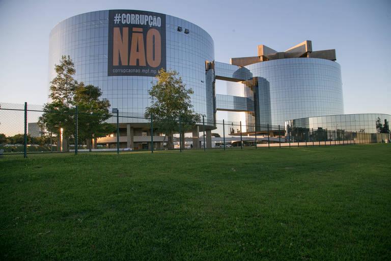 Fachada do prédio da Procuradoria-Geral da Republica, em Brasília