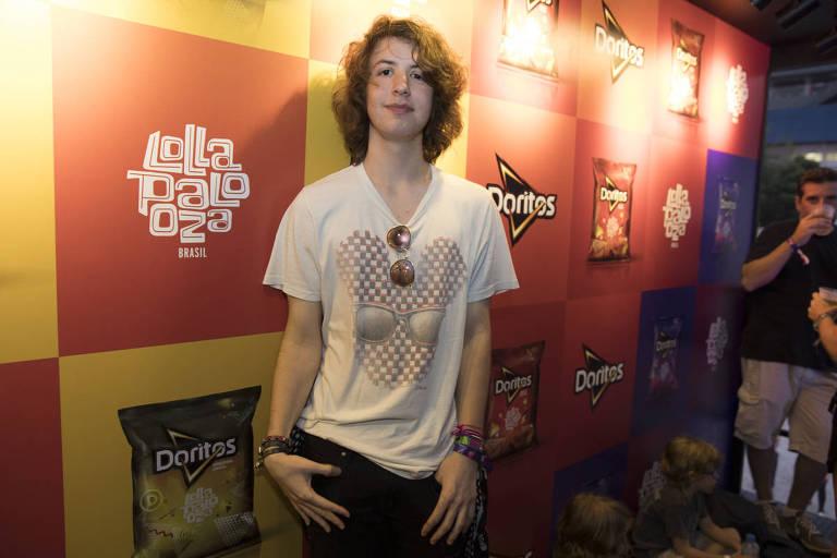 Lucas Jagger no Lollapalooza