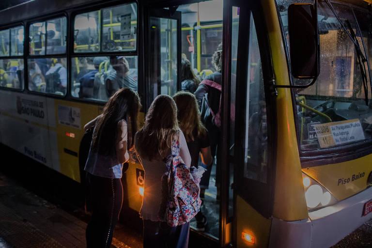 Ônibus em SP
