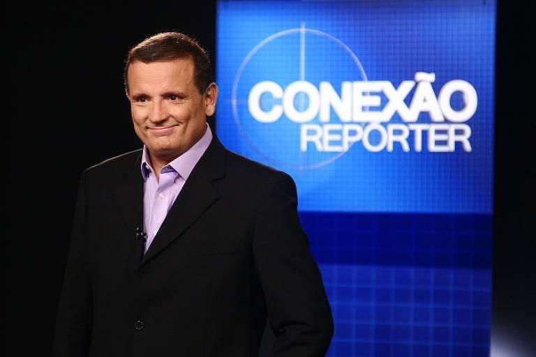 O apresentador e repórter Roberto Cabrini