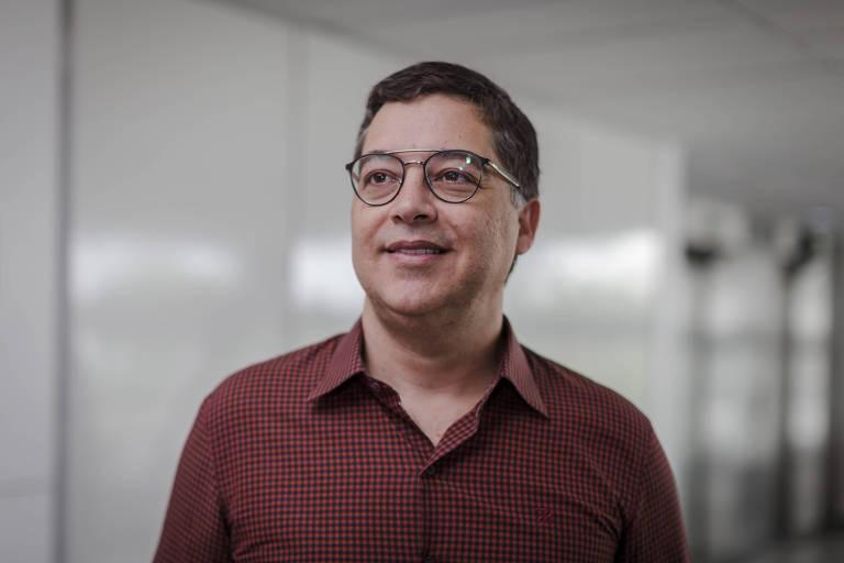 O diretor do Itaú Cultural, Eduardo Saron