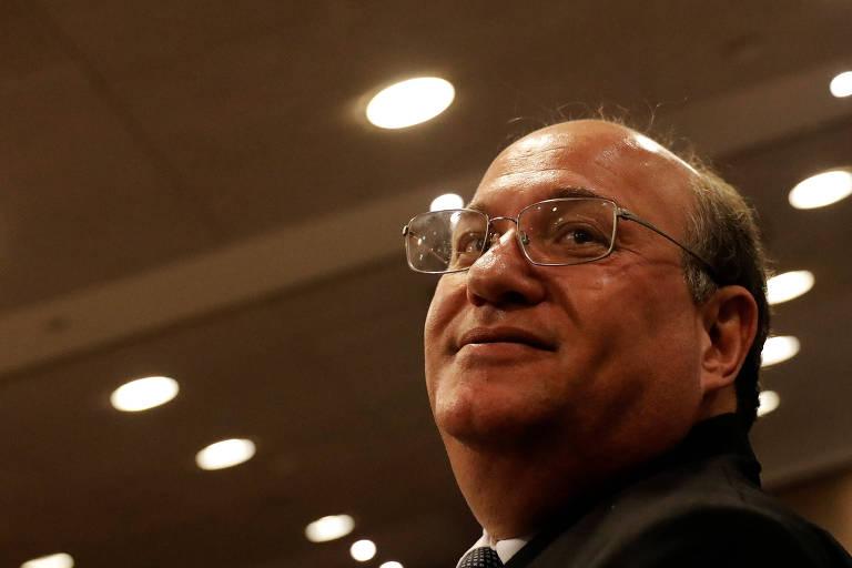Ilan Goldfajn, presidente do Banco Central, em conferência sobre comércio e globalização em São Paulo