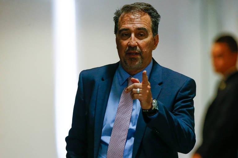 O presidente da Caixa, Gilberto Occhi
