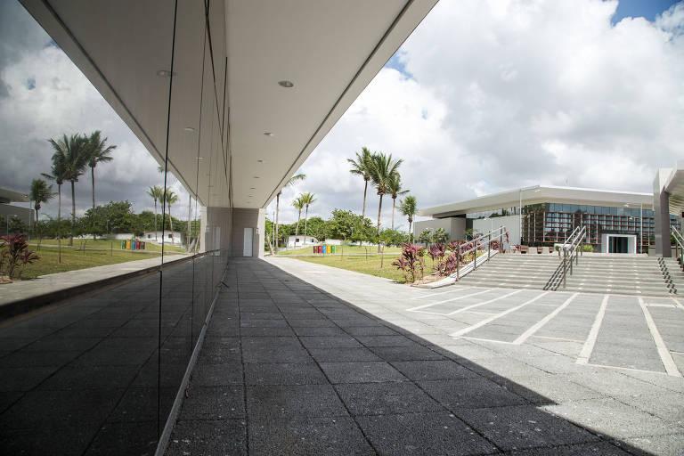 Polo Industrial e Tecnológico da Fiocruz no município de Eusébio (CE), que fica na região metropolitana de Fortaleza