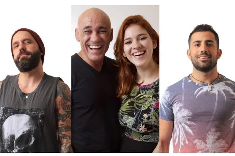 Caruso, família Lima e Kaysar formam o nono paredão do BBB 18 (Globo)