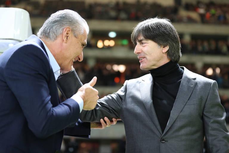 Alemanha e Brasil se enfrentaram em amistoso neste ano, em março, com vitória do Brasil por 1 a 0