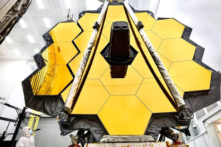 O telescópio espacial James Webb da Nasa