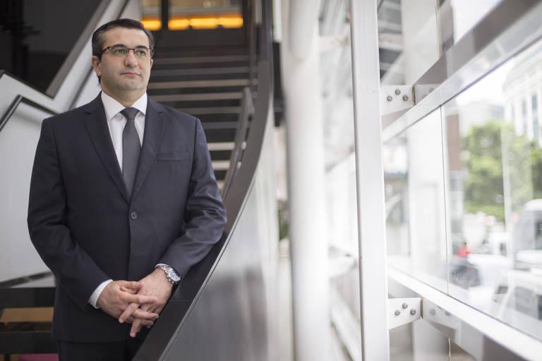 João Tavares, presidente-executivo do Sicredi