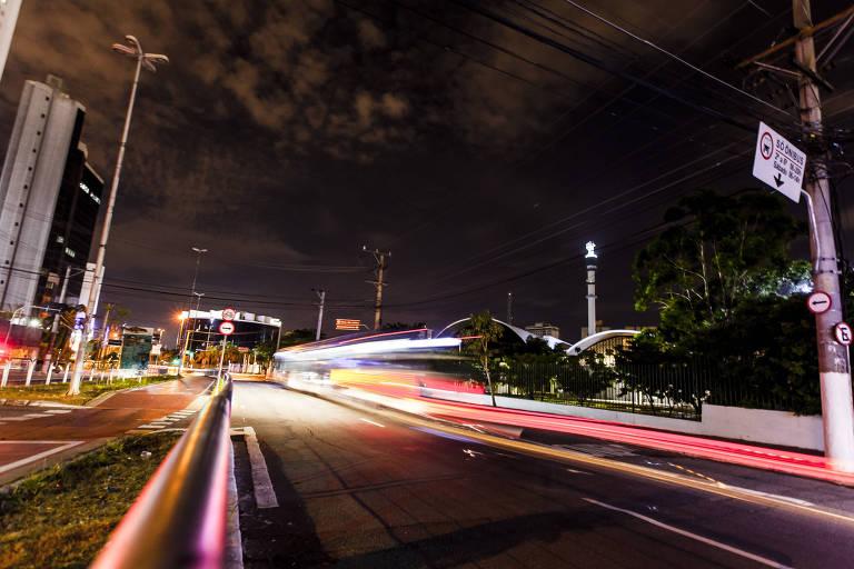 Problemas com iluminação pública na região central de São Paulo