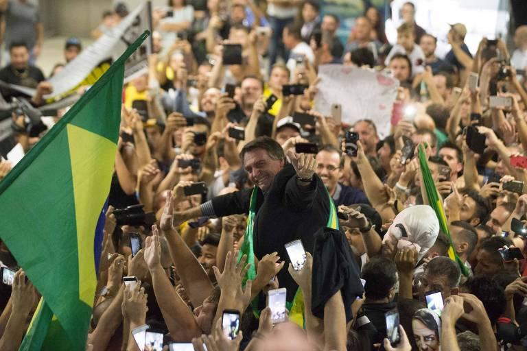 Jair Bolsonaro em São José dos Pinhais (PR)