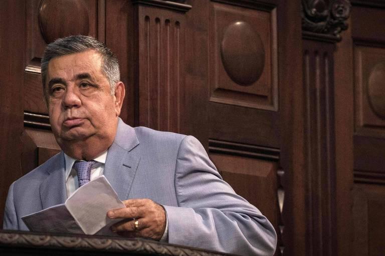 O ex-deputado estadual Jorge Picciani (MDB), um dos condenados pelo TRF-2