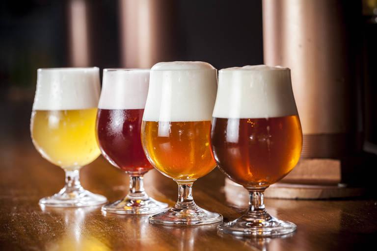 A fábrica-bar da cervejaria Vórtex é novidade na Chácara Santo Antônio