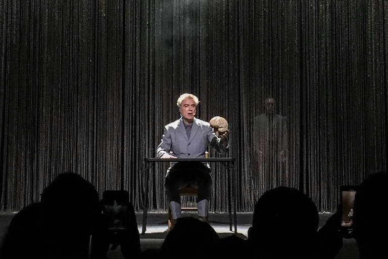 David Byrne em show no Rio