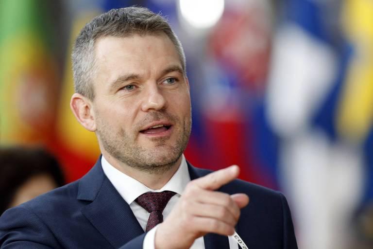O novo primeiro-ministro da Eslováquia, Peter Pellegrini