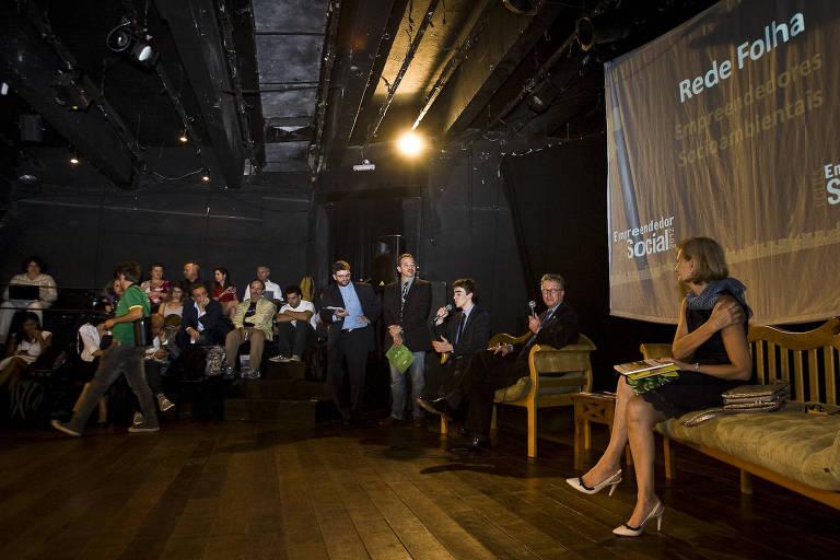 Debate da Rede Folha de Empreendedores Socioambientais realizado no Rio