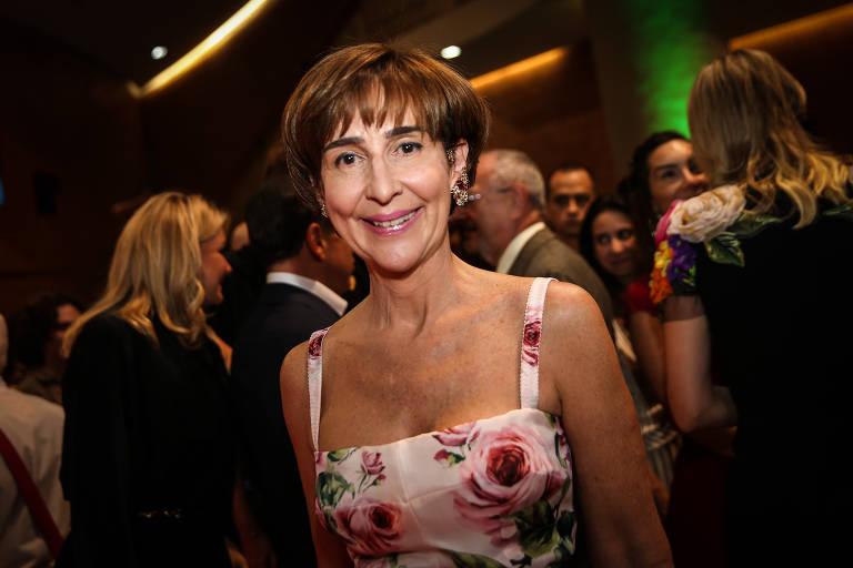 Viviane Senna em evento na capital paulista