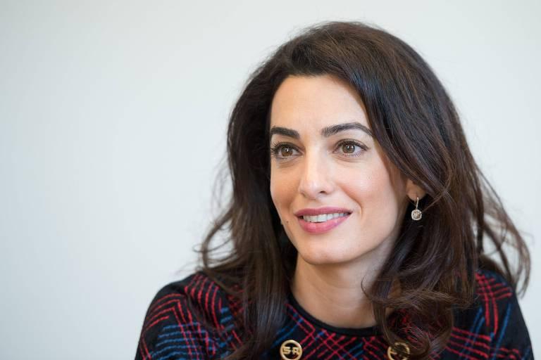 A advogada de direitos humanos Amal Clooney