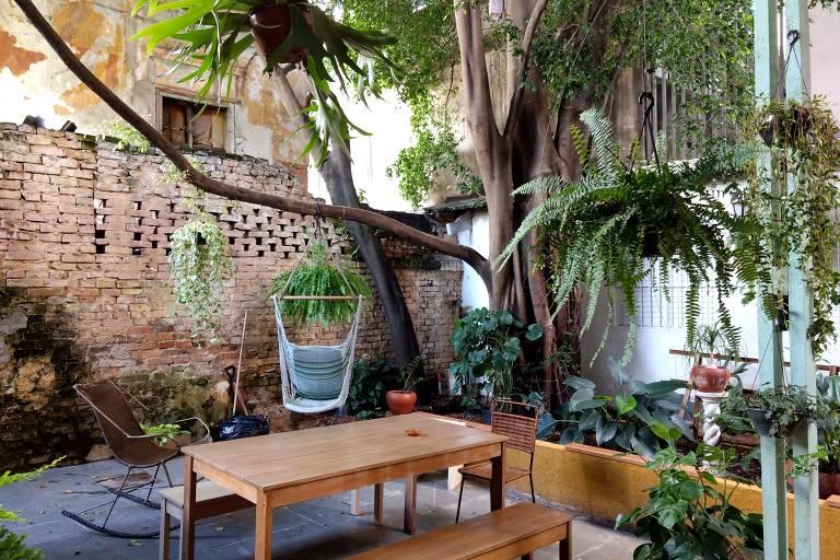 Café Quintal do Centro, na Vila Buarque