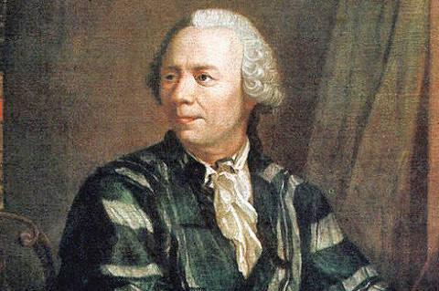 O matemático suíço Leonhard Euler (1707-1783)