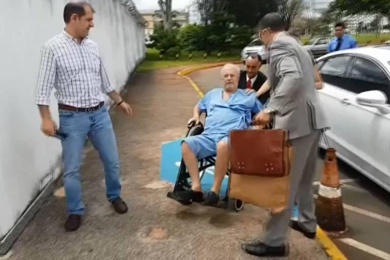 Após 'noite dramática', Maluf chega em casa em SP para prisão domiciliar