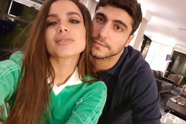 Anitta e o marido, o empresário Thiago Magalhães, em foto publicada no Instagram dele