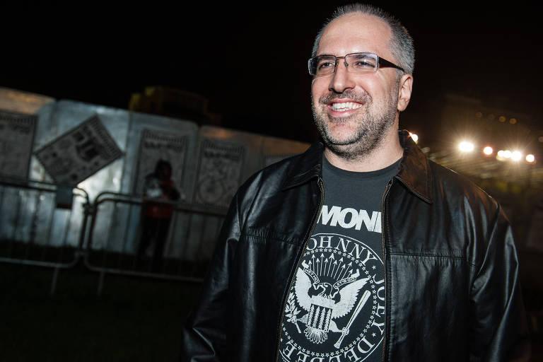 Antonio Pedro Tabet, do Porta dos Fundos, no Lollapalooza 2013
