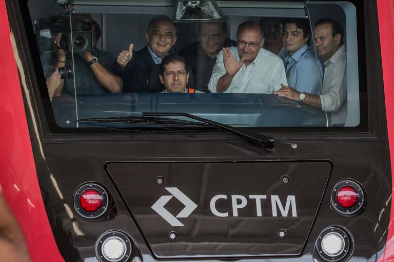 Inauguração da linha 13-jade da CPTM
