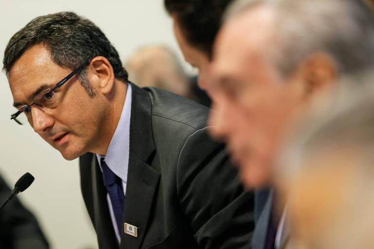 Novo ministro da Fazenda, Eduardo Guardia, participação de reunião do Comitê de Líderes da Mobilização Empresarial pela Inovação