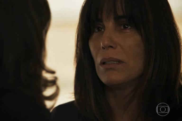 Glória Pires em cena de 'O Outro Lado do Paraíso' (Globo)