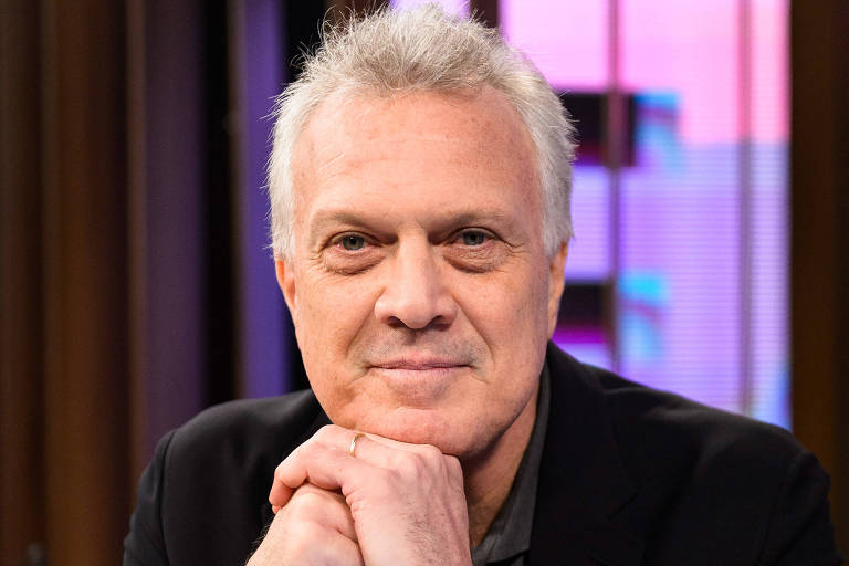 Pedro Bial na segunda temporada do Conversa com Bial (Globo)
