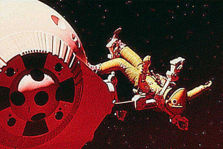 """Cena do filme """"2001: Uma Odisséia no Espaço"""""""