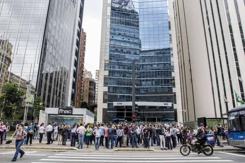 Cidades do país sentem reflexo de tremor; prédios são evacuados em SP e DF