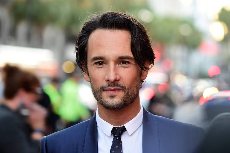 Rodrigo Santoro na premiere do filme Ben-Hur, em agosto de 2016 (Harrison/Getty Images For Paramount Pictures/AFP)