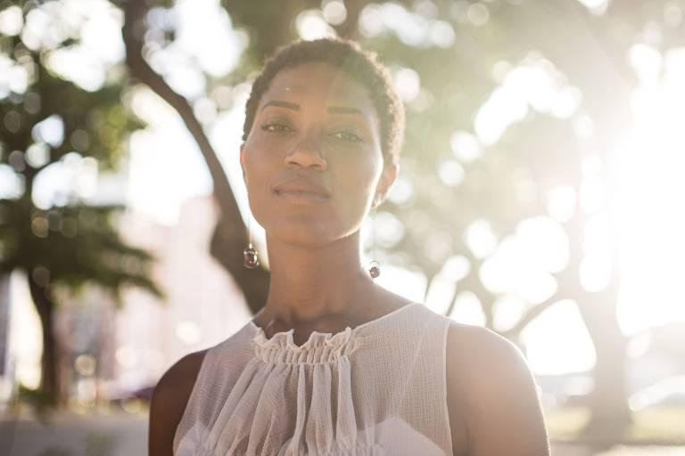 A cantora Luedji Luna