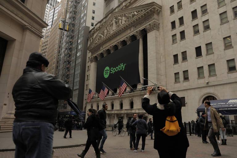 Serviço de streaming Spotify entra na Bolsa de Valores de Nova York nesta terça
