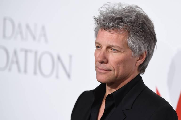 O vocalista da banda, Jon Bon Jovi