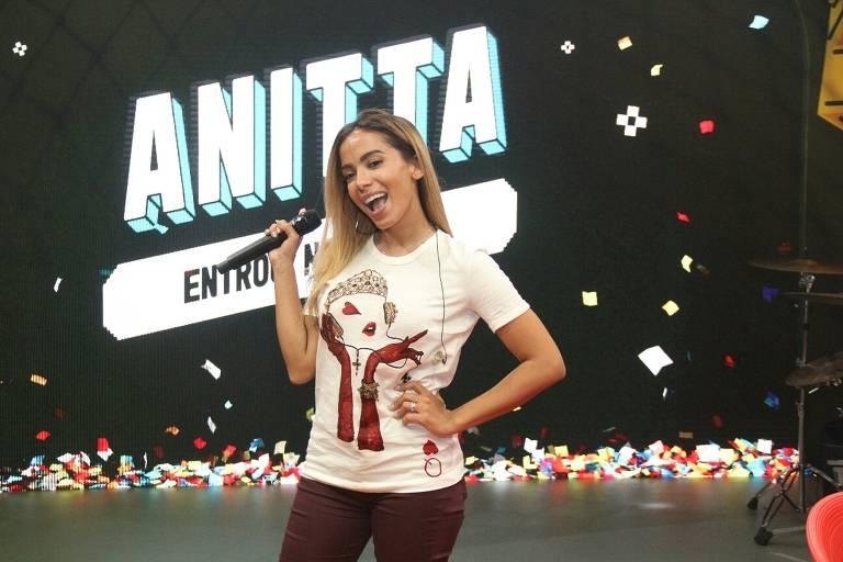 Ensaio para estreia do programa 'Anitta Entrou no Grupo' (Multishow)