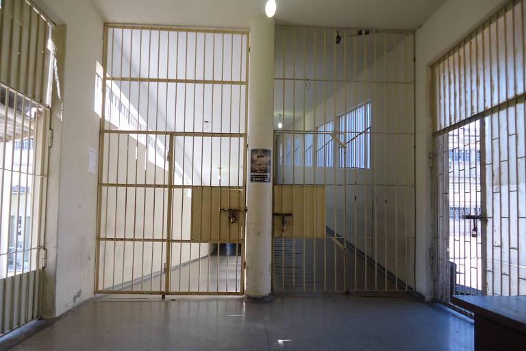 Corredores do Complexo Medico Penal de Pinhais