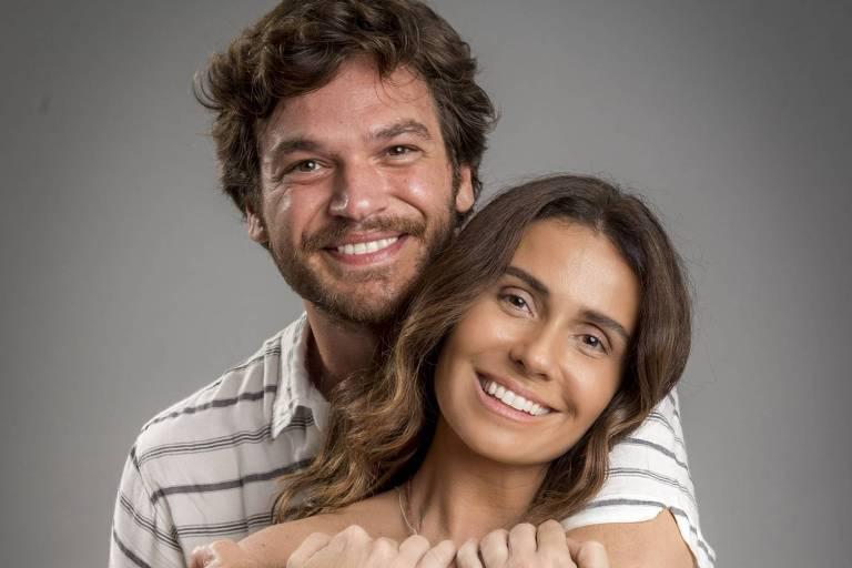 """Emílio Dantas e Giovanna Antonelli, protagonistas de """"Segundo Sol"""" (Globo)"""