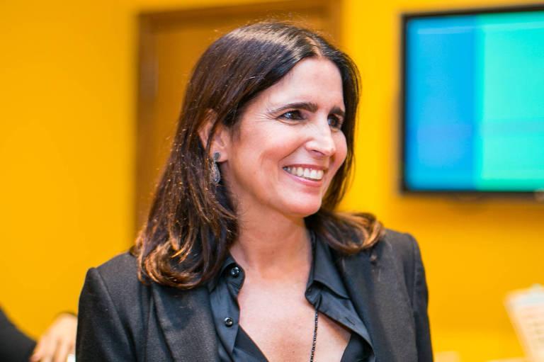 A atriz Malu Mader