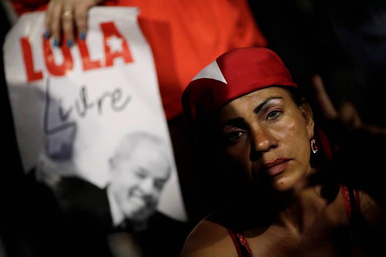 O julgamento do habeas corpus de Lula em imagens