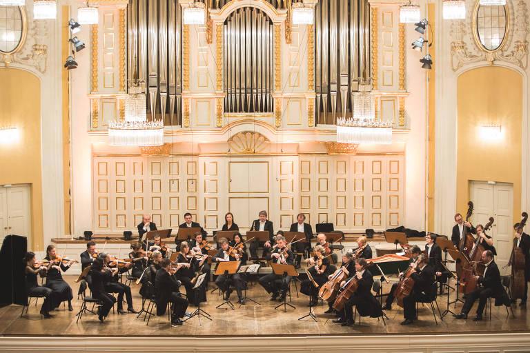 Sob regência do israelense Gregory Ahss, a Camerata Salzburg toca na Sala São Paulo