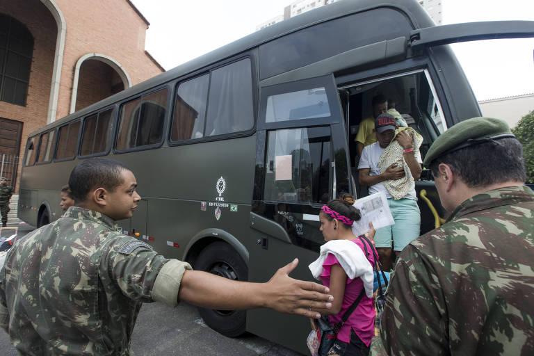 Venezuelanos em SP