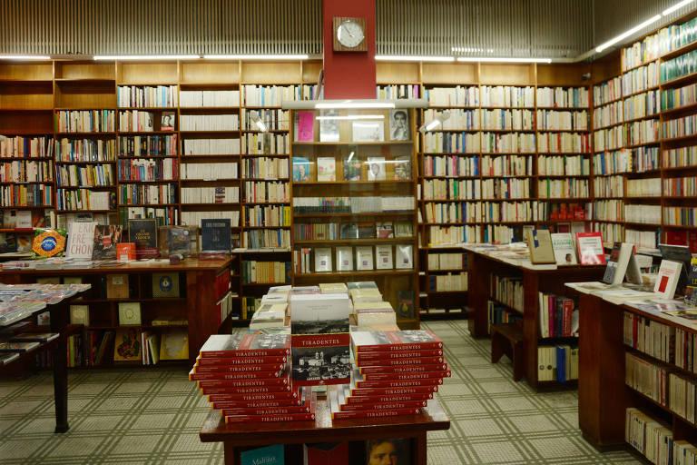 Livraria Francesa, no centro de São Paulo